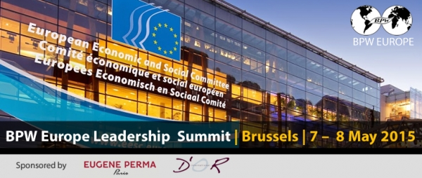 Leadership European Summit BPW Business and Professional Women 7-8 Mai 2015