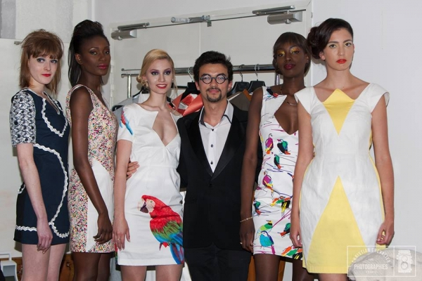 Fabiano Desplat, styliste et ISC MBA 2015 présente sa collection au défilé Fashion Break