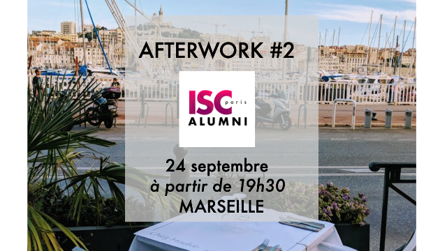 AFTERWORK #3 Marseille - Cette fois-ci, on dîne ensemble !
