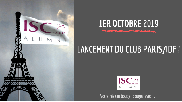 Lancement du Club Paris-IDF ISC Paris alumni