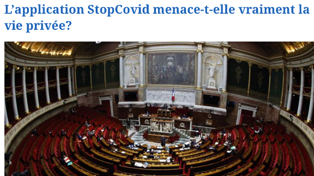 L'application StopCovid menace-t-elle vraiment la vie privée ? Tribune d'Éric Salobir (ISC Paris 93) - Le Figaro.fr