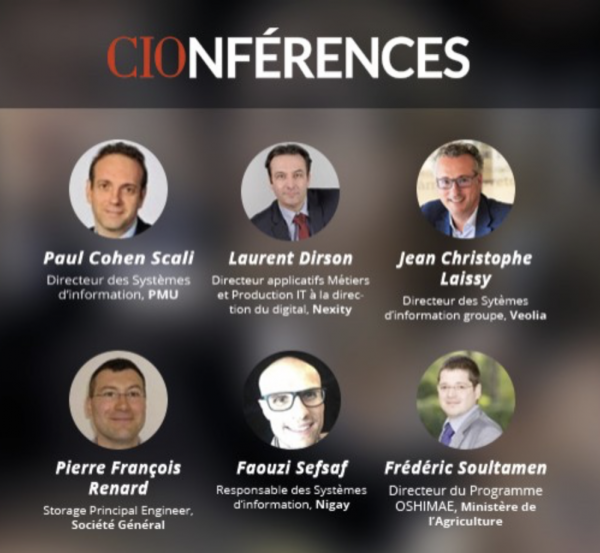"Conférence  CIO avec JC LAISSY (ISC 93) ""Software Defined Everything"""