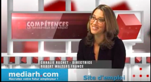 Interview BFM Business : Coralie Rachet, Directrice France de Robert Walters, ISC promo 99