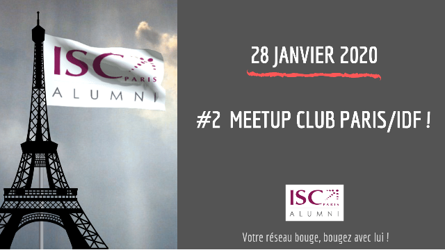 #2 MeetUp Networking - Club Paris/IDF