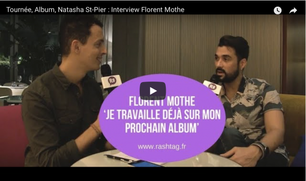 Interview : Florent MOTHE (ISC 2005), en tournée actuellement